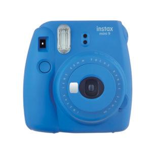 Fujifilm instax mini 9 Camera Cobalt Blue with Instant Film Kit 10 Sheets mega kosovo prishtina pristina skopje