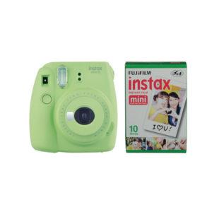 Fujifilm instax mini 9 Camera Lime Green with Instant Film Kit 10 Sheets mega kosovo prishtina pristina skopje