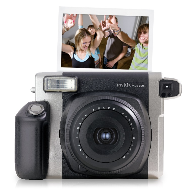 fujifilm instax wide 300 with instant film kit 10 sheets mega electronics. Black Bedroom Furniture Sets. Home Design Ideas
