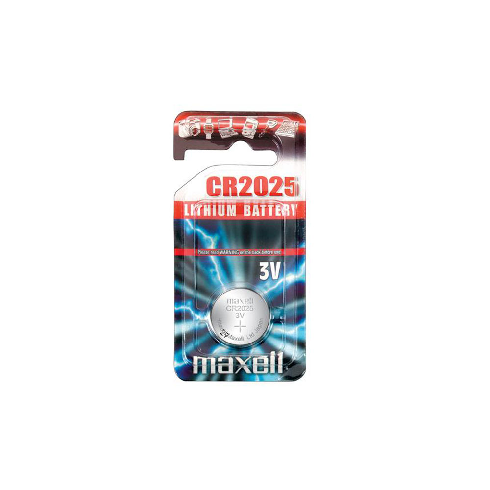 Maxell Battery Lithium CR2025