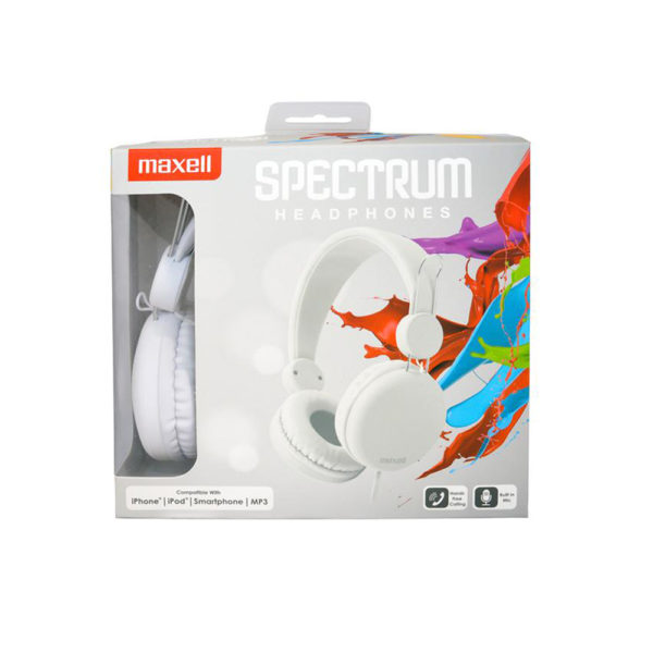 Maxell hp spectrum white 1