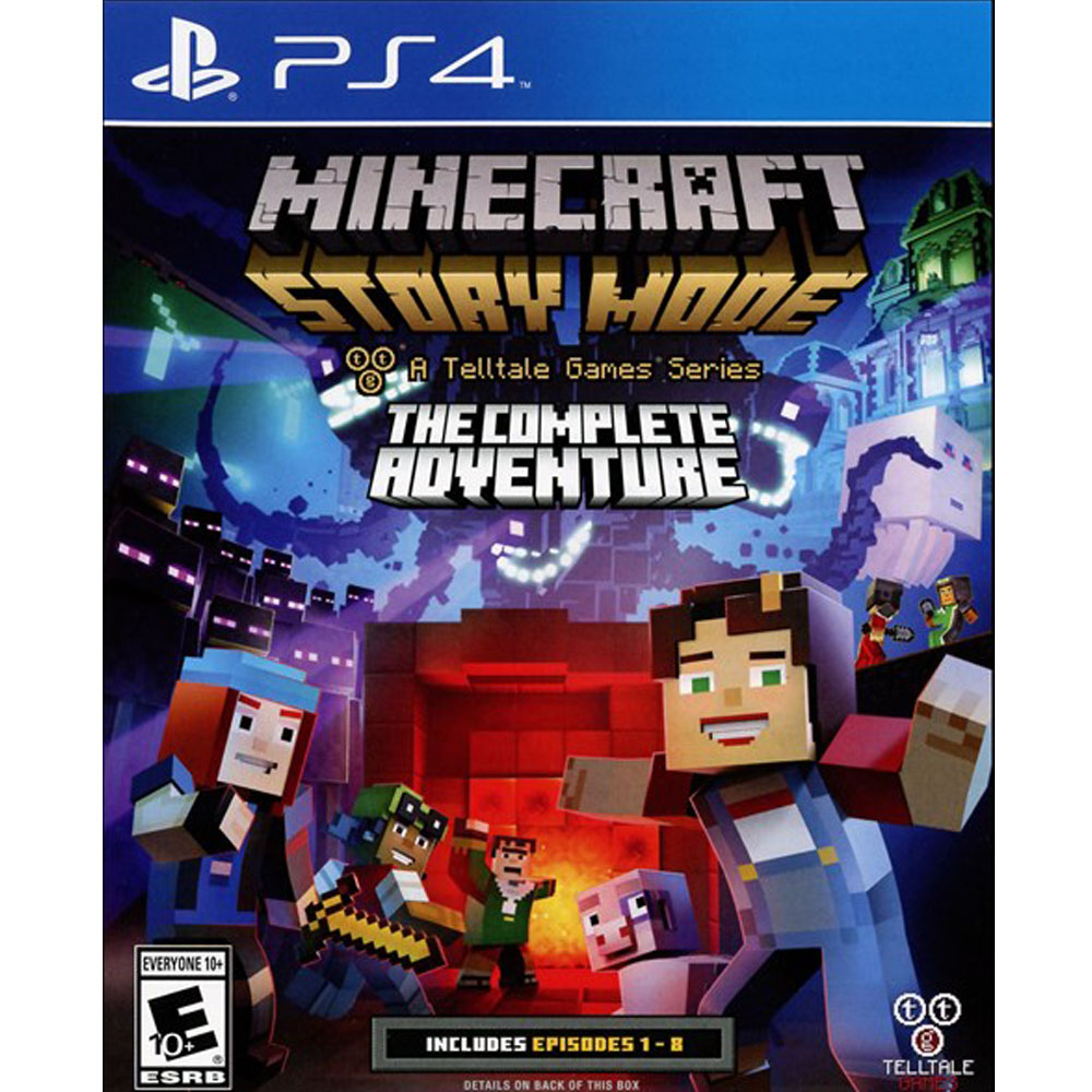 Ps4 Minecraft Story Mode Mega Electronics