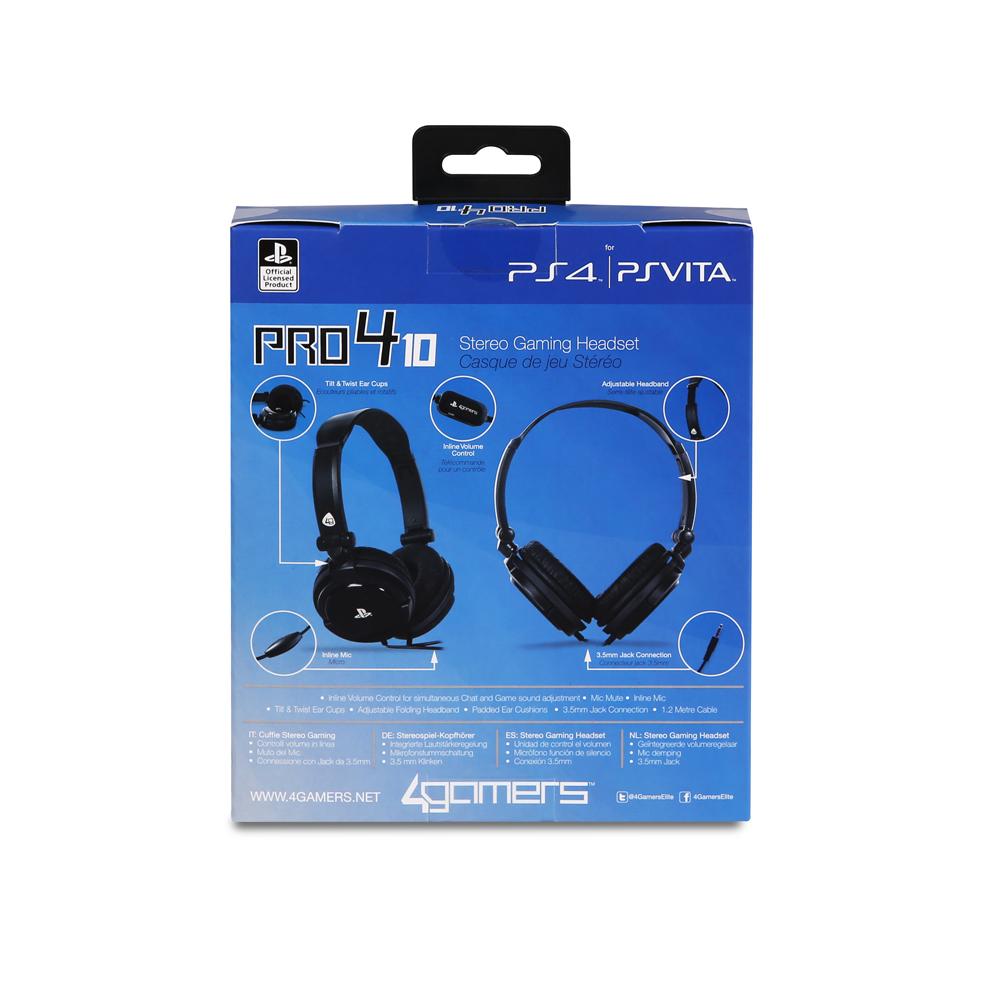 Pro 410 Stereo Gaming Headset For Ps4 Psvita Mega Electronics 3 5mm Headphone Jack Wiring Pro410 Prishtine Kosvo Skopje 4