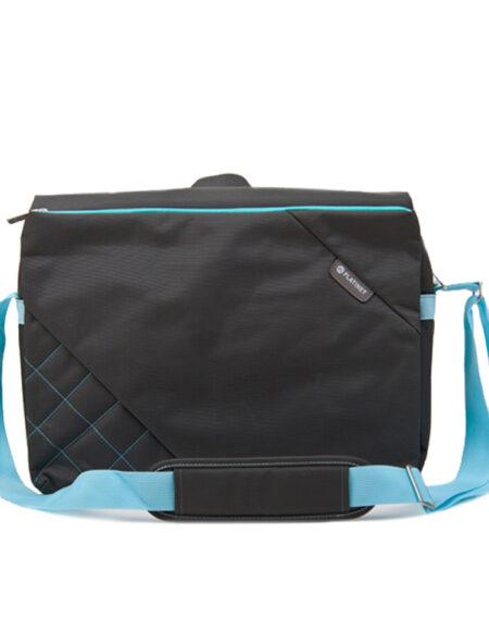 PLATINET Bag For Notebook 15,6″ Messenger Collection Grey Blue mega kosovo skopje prishtina