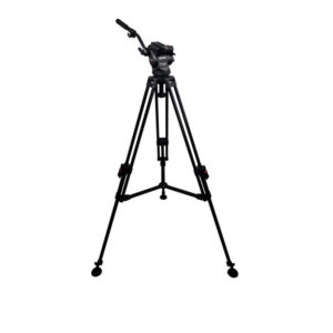 Cartoni Focus 8 Fluid Head with Sliding Plate & APTP Tripod (75mm)