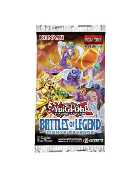 Yu Gi Oh Card Battles of Legend Light's Revenge Booster Box mega kosovo pristina prishtina