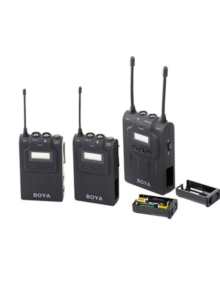Boya BY-WM8 Dual Channel UHF Wireless Microphone System mega kosovo pristina prishtina