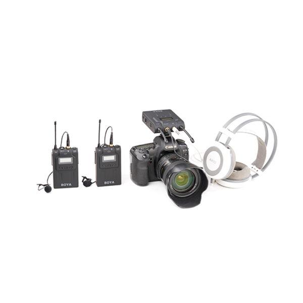 Boya BY-WM8 Dual Channel UHF Wireless Microphone System mega kosovo pristina prishtina