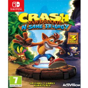 Nintendo Switch Crash Bandicoot N. Sane Trilogy mega kosovo prishtina pristina