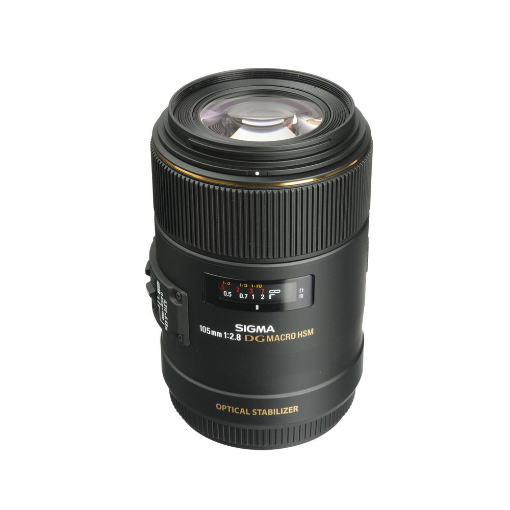 Sigma 105mm F 28 Ex Dg Os Hsm Macro Lens For Canon Mega Electronics Nikon 24 70mm If Kosovo Prishtina