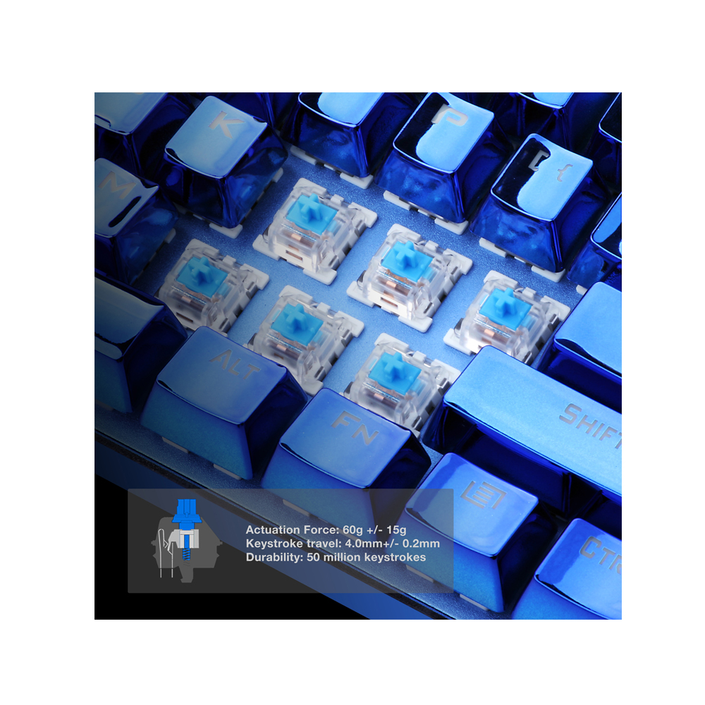 Redragon Devarajas K556 RGB Mechanical Gaming Keyboard