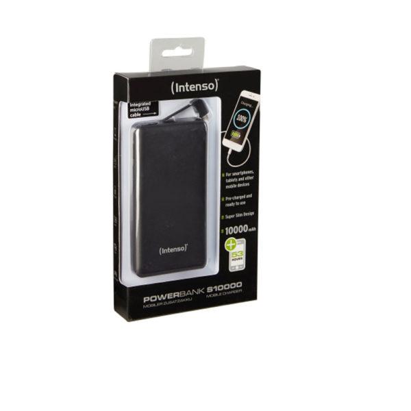 Intenso Powerbank S10000 mAh Black Slim mega kosovo prishtina pristina