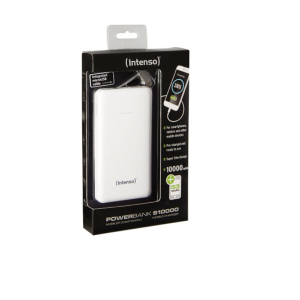 Intenso Powerbank S10000 mAh White Slim mega kosovo prishtina pristina