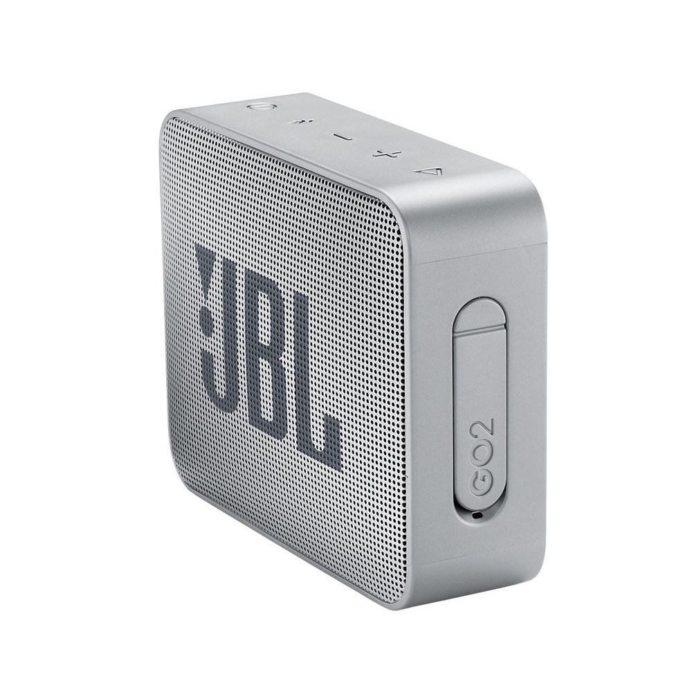JBL Go 2 Waterproof Portable Bluetooth Speaker Grey