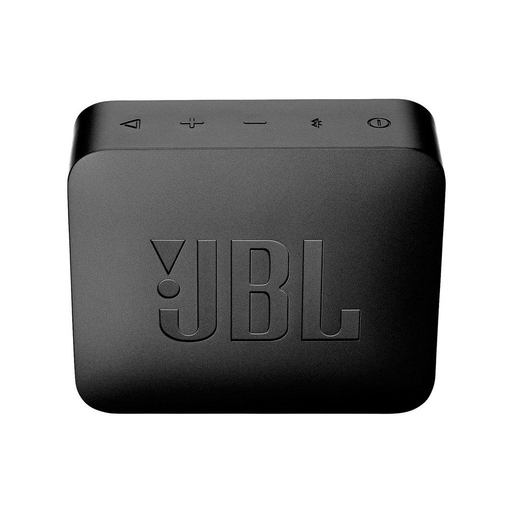 JBL Go 2 Waterproof Portable Bluetooth Speaker Black