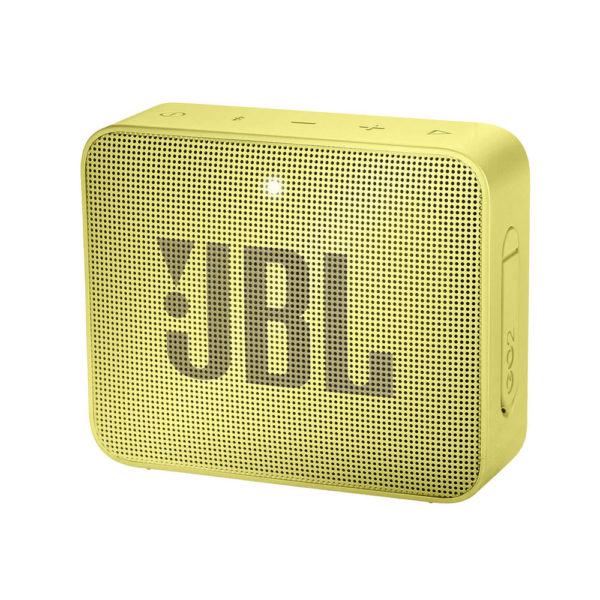 JBL Go 2 Waterproof Portable Bluetooth Speaker Yellow mega kosovo prishtina pristina
