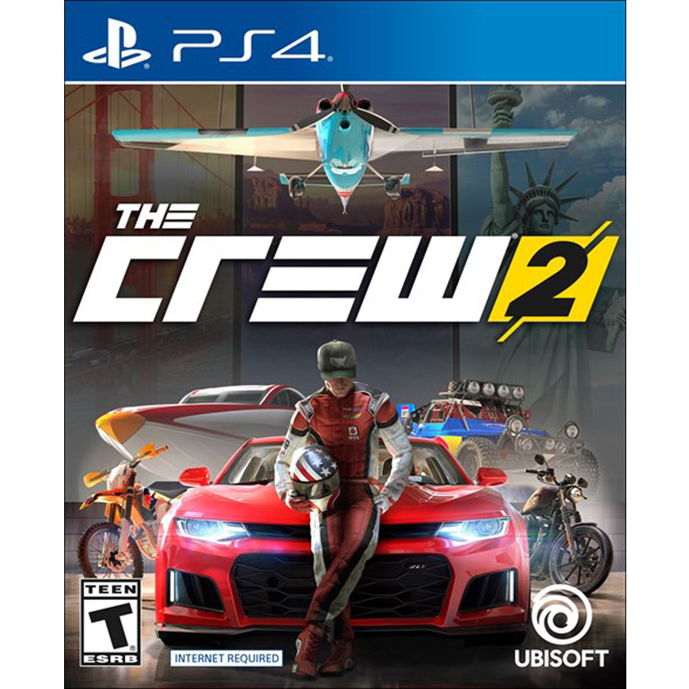 ps4 the crew 2 mega electronics. Black Bedroom Furniture Sets. Home Design Ideas