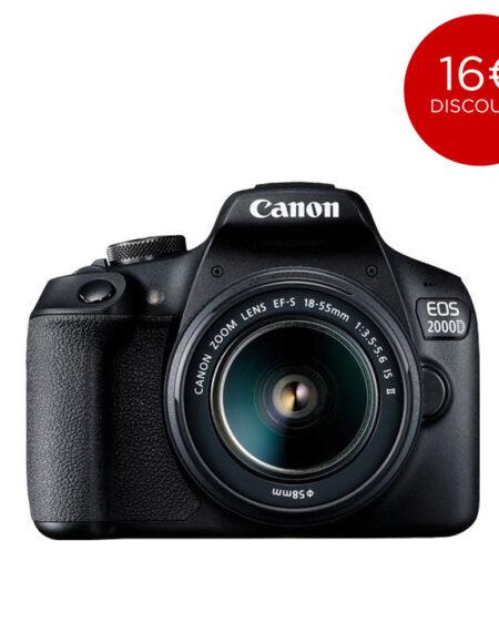 Canon EOS 2000D EF-S 18-55mm IS II