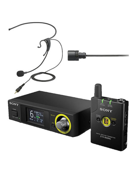Sony DWZ Series Digital Wireless Headset & Lavalier Set mega ksoovo prishtina pristina