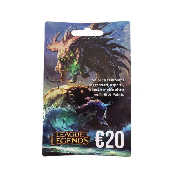 Card League of Legends 20€ mega kosovo prishtina pristina skopje