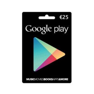 Google Play 25€ mega kosovo prishtina pristina skopje