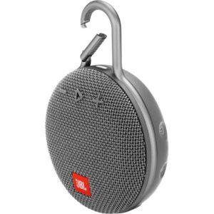 JBL Clip 3 Porta0ble Bluetooth Speaker Grey mega kosovo prishtina pristina skopje