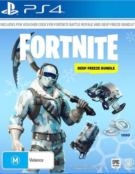 Fortnite Deep Freeze Bundle mega kosovo kosova prishtina pristina skopje