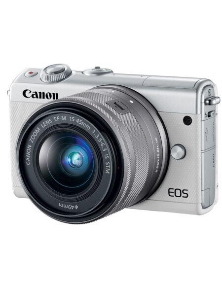 Canon EOS M100 Mirrorless Digital Camera with 15-45mm Lens mega kosovo prishtina pristina skopje