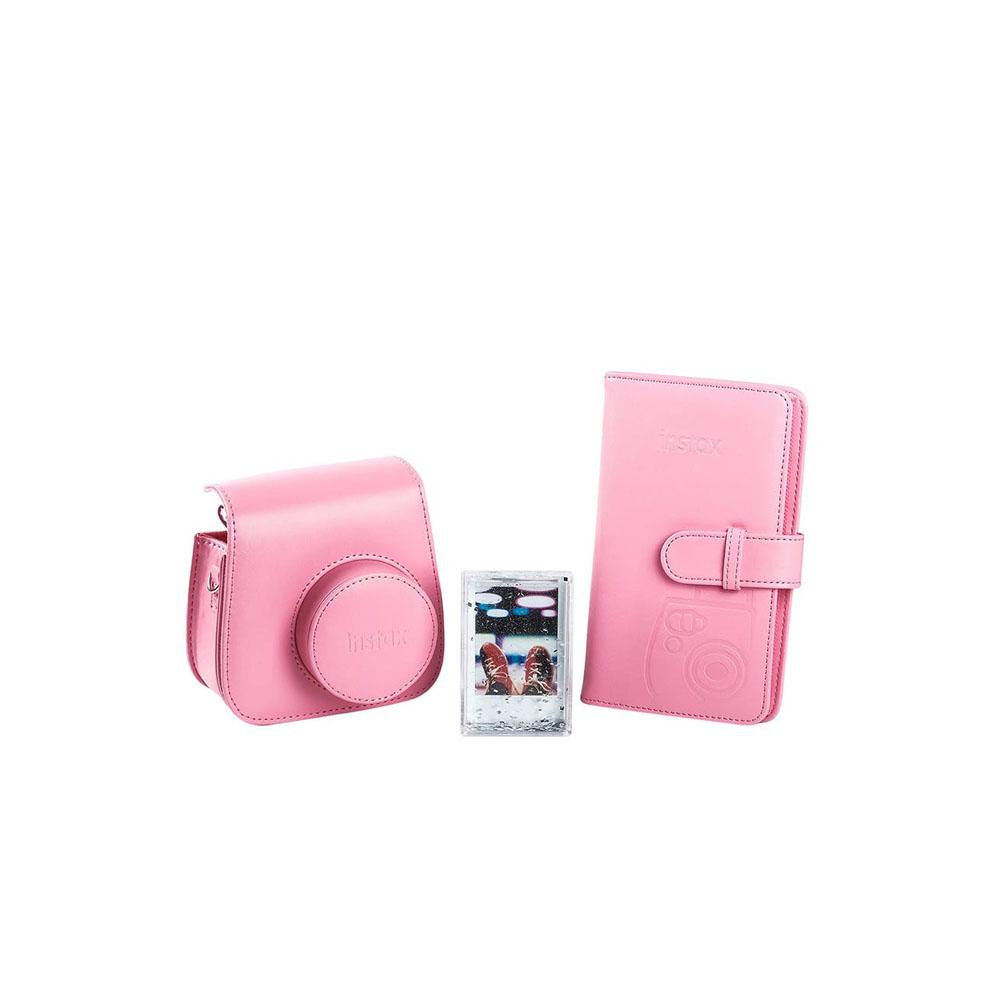 Fujifilm Instax Mini 9 Accessory Kit Flamingo Pink Mega