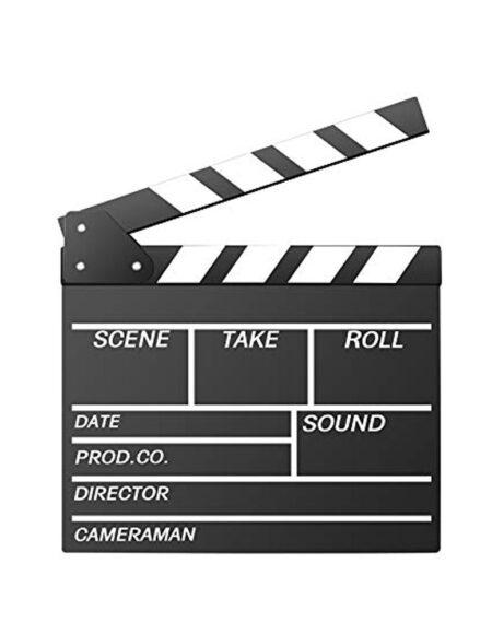 Clapperboard for movie AP-05T Black mega kosovo prishtina pristina skopje
