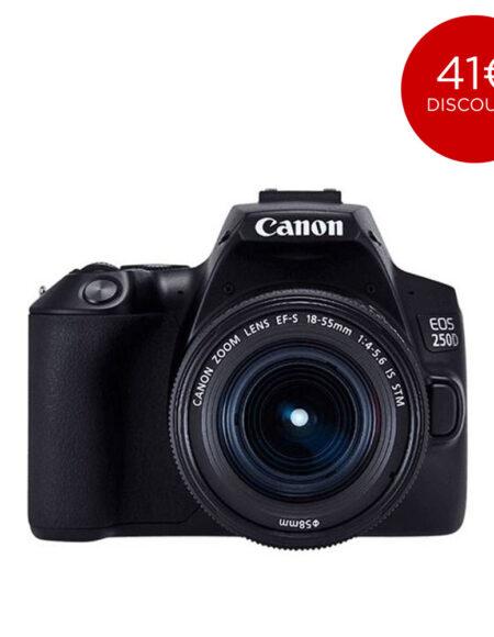 CANON DSLR EOS 250D EF-S 18-55MM