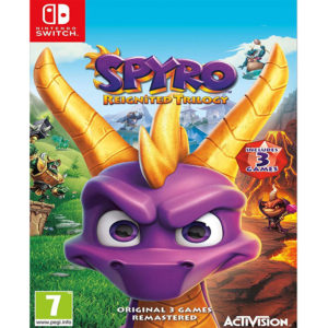 Nintendo Switch Spyro Reignited Trilogy mega kosovo prishtina pristina skopje