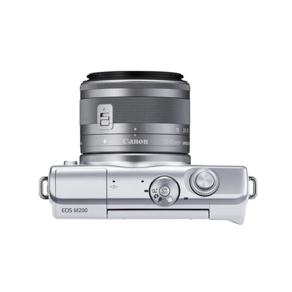 Canon EOS M200 Mirrorless Digital Camera with 15-45mm Lens White mega kosovo prishtina pristina skopje