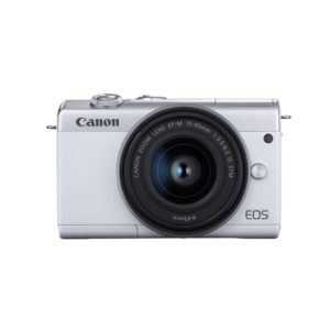 Canon EOS M200 Mirrorless Digital Camera with 15-45mm Lens White mega kosovo prishtina pristina skopje