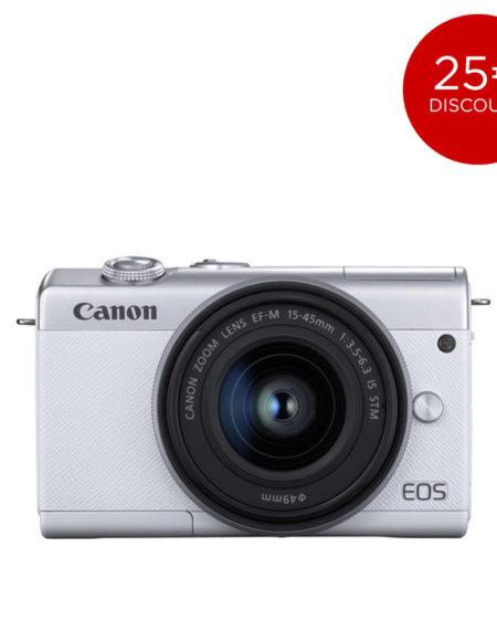 Canon EOS M200 Mirrorless Digital Camera with 15-45mm