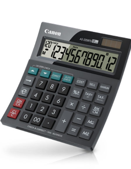 Canon calculator AS-220RTS mega kosovo prishtina pristina