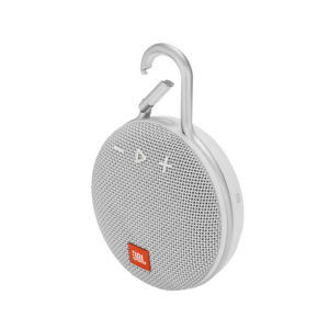 JBL Clip 3 Portable Bluetooth Speaker White mega kosovo prishtina pristina skopje