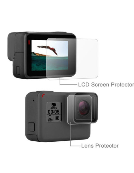 2 in 1 Film Protector GoPro Hero-5-GP500