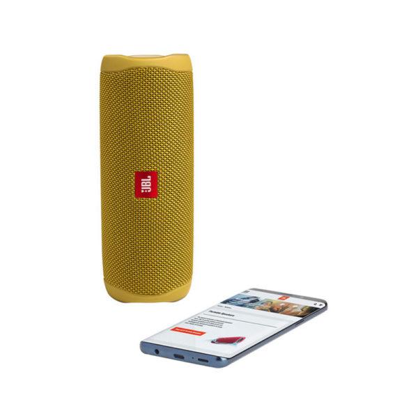 JBL Flip 5 Waterproof Bluetooth Speaker Yellow mega kosovo prishtina pristina skopje