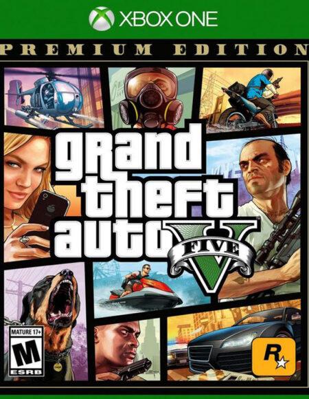 Xbox One GTA V Premium Edition mega kosovo prishtina pristina
