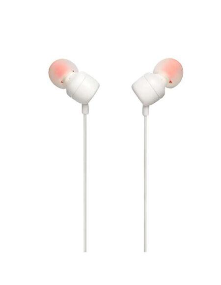 JBL T110 In Ear Headphones White mega kosovo prishtina pristina