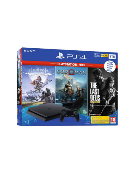 Playstation 4 Slim 1TB + Horizon Zero down + God of War + The Last of Us mega kosovo prishtina pristina