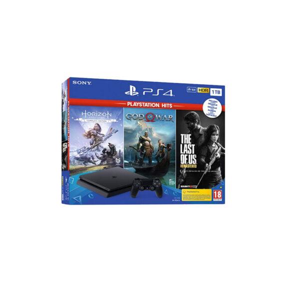 Playstation 4 Slim 1TB + Horizon Zero down + God of War + The Last of Us mega kosovo prishtina pristina