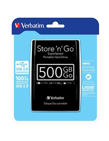 Verbatim Super Speed Portable Hard Drive 500GB mega kosovo prishtina pristina