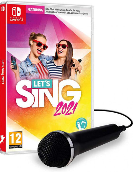 Nintendo switch let's sing 2021 + 1 microphone mega kosovo kosova prishtina prstina