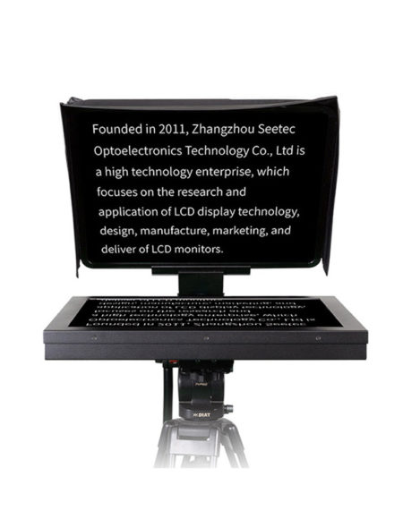 SEETEC 19'' Professional Studio Teleprompter with 70/30 Beamsplitter Glass and 19 Inch LCD Monitor mega kosovo kosova prishtina pristina skopje