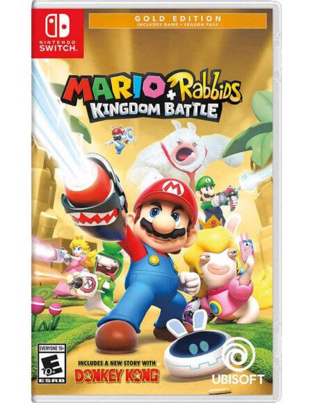 Nintendo Switch Mario + Rabbids Kingdom Battle Gold Edition mega kosova kosovo prishtina pristina