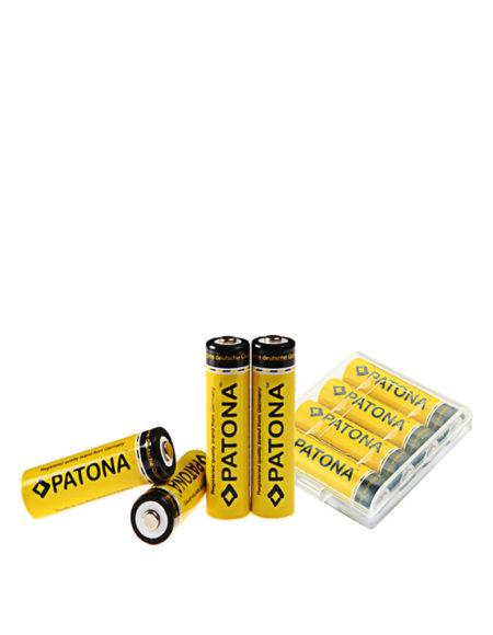 PATONA 2450mAh Rechargeable Battery For AA 4pcs Pack mega kosovo kosova pristina prishtina