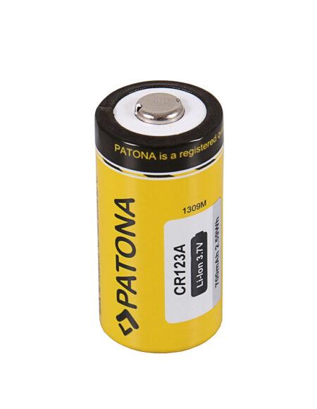 PATONA Battery CR123a 16340 Zelle Li-Ion 3.7V 700mAh mega kosovo kosova pristina prishtina