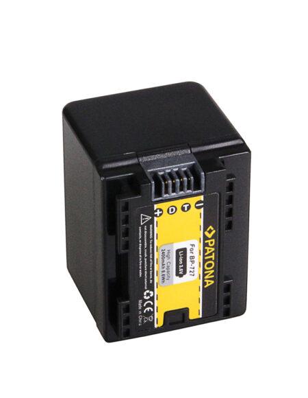 PATONA Battery For Canon BP-727 Canon HF R36 HF38 HF306 HFR46 HF48 HF406 mega kosovo kosova pristina prishtina